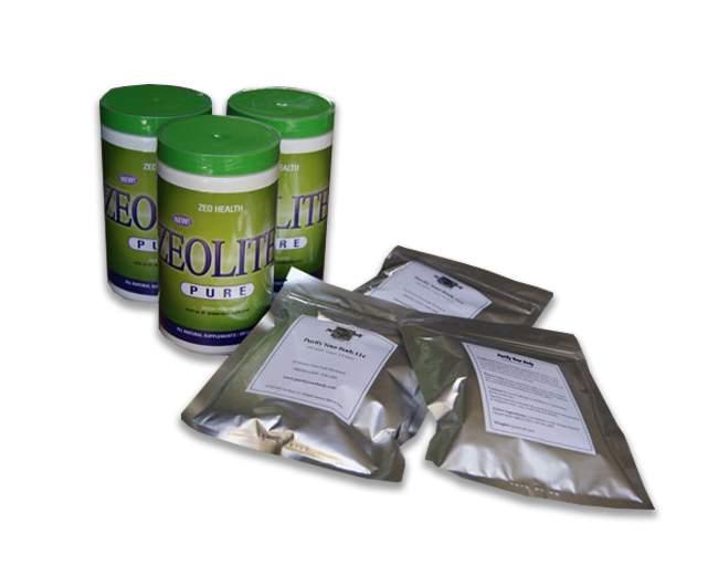 3 zeolite and 3 packs detox foot pads