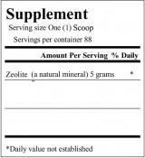 zeolite label