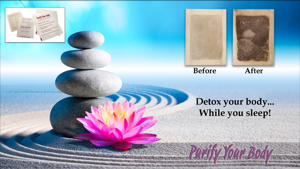 Purify Your Body Detox Foot PAds