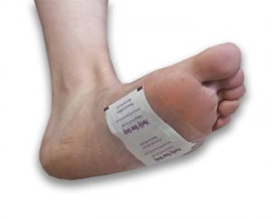 New Adhesive for detox foot pads step 9