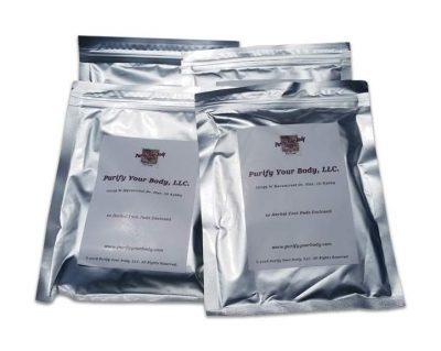40 pack detox foot pads