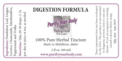 Digestion Herbal Tincture