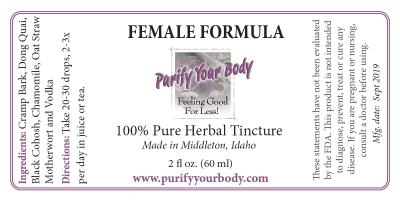 Female Herbal Tincture