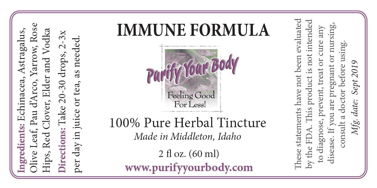 Immune Herbal Tincture
