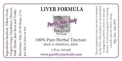 Liver Herbal Formula