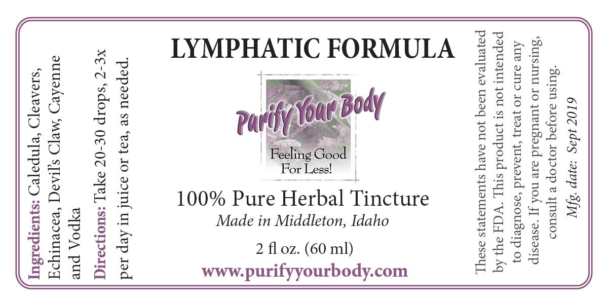 Lymphatic herbal tincture