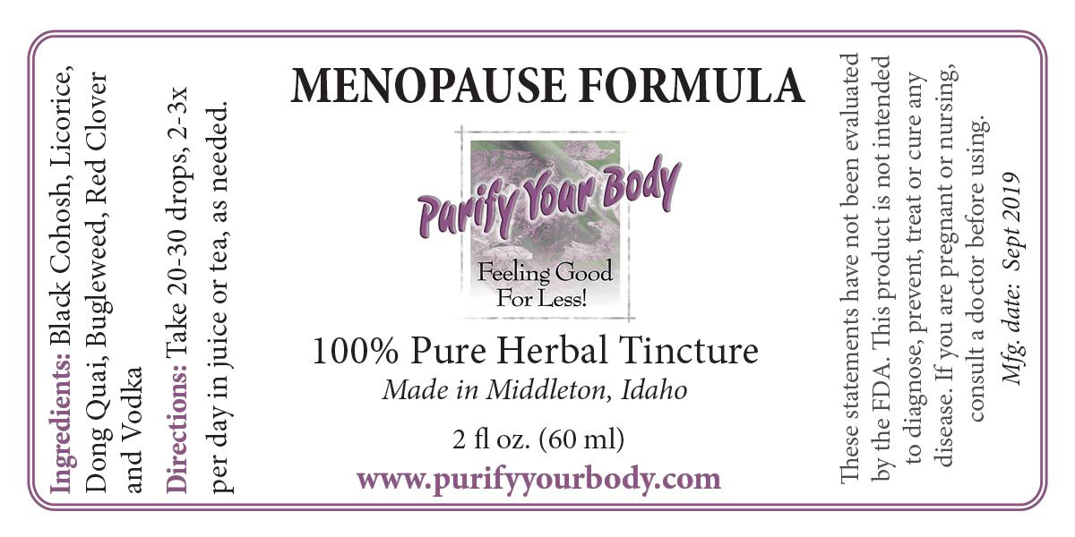 Menopause Herbal Tincture