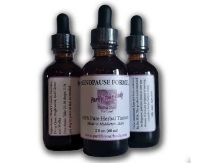 Menopause Herbal Tincture