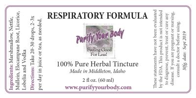 Respiratory Herbal Tincture