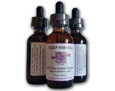 Sleep herbal tincture