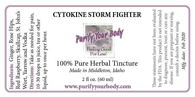 Cytokine Storm Fighter label