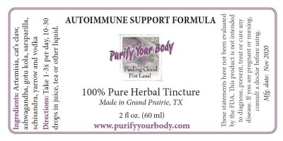 autoimmune formula