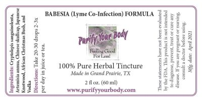 Lyme Co-infection Babesia Formula